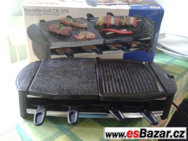 Gril - BOMANN CB 1279 Raclette gril