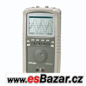 Bateriový osciloskop s multimetrem