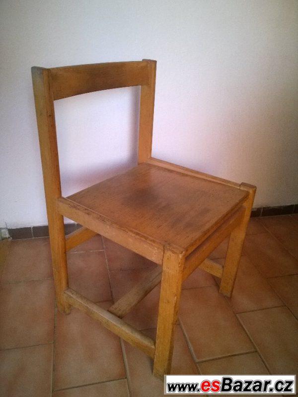 Dřevěné židle - 20ks