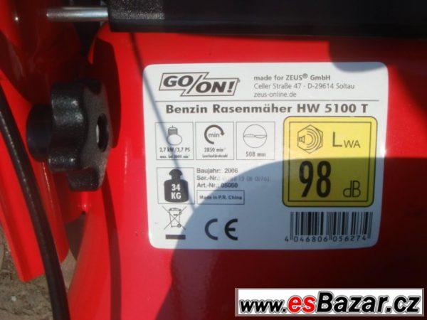 Benzínová sekačka Geon s pojezdem