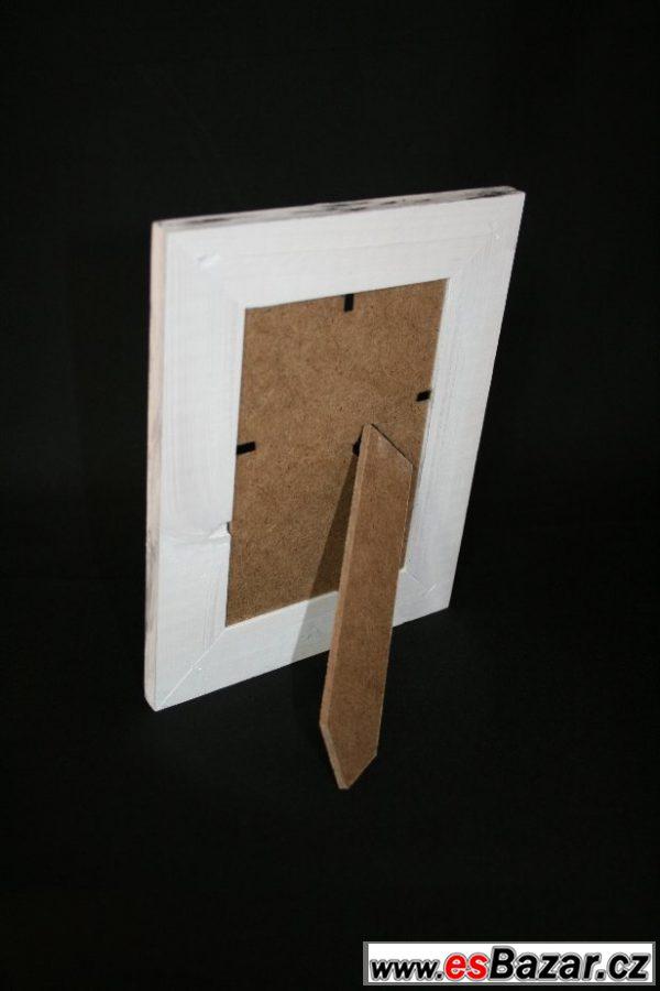 Fotorámeček dřevěný - nový