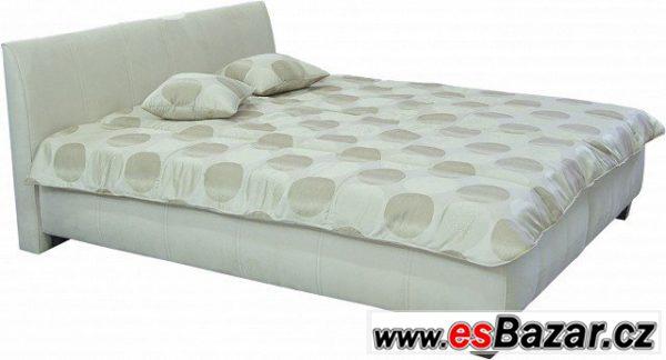 Dvoulůžko postel Lexus z eko kůže
