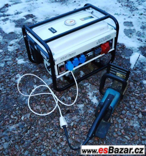 Elektrocentrála 2,5kW na 380V