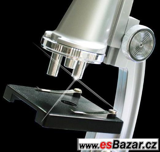 Dětský mikroskop zvětšení max 900x