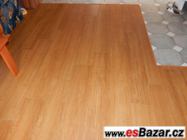 Dlažba imitace dřeva 10 m2