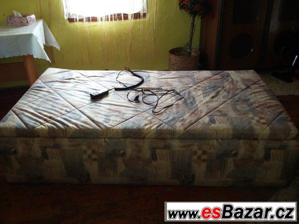 El. postel, WC pojízdné, stolek