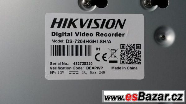 Digital video recorder Hikvision