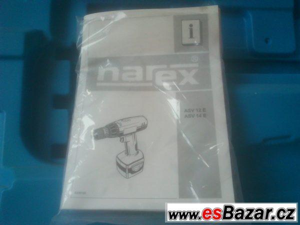 Aku vrtačka Narex