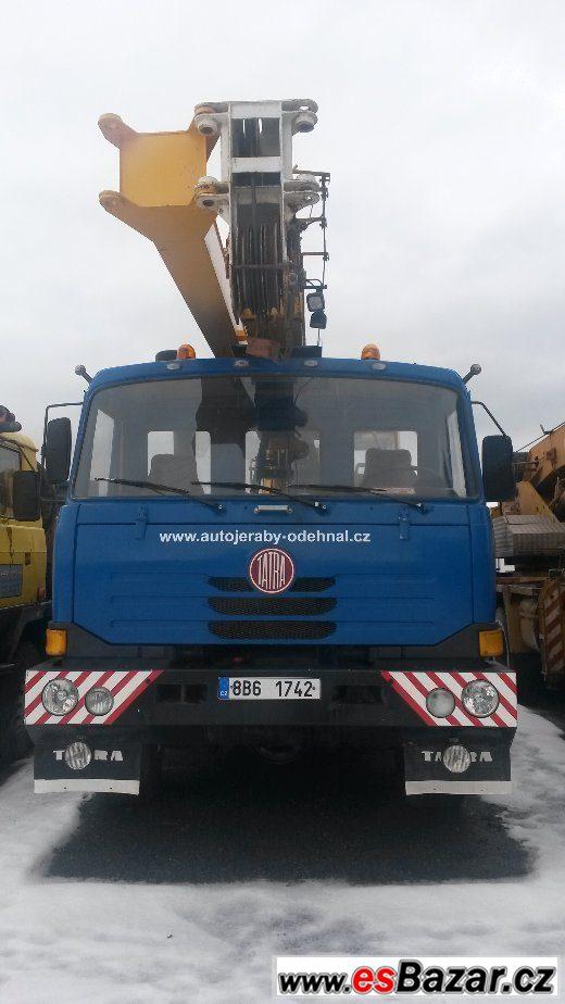 Autojeřáb AD20T-TATRA T815