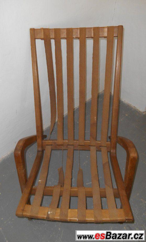 Dřevěné designové křeslo