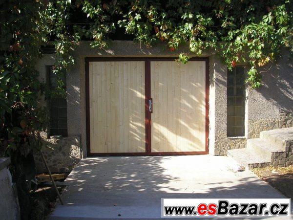 Garážová vrata 240x206cm palubková