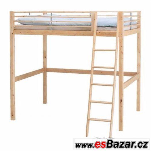 Dřevěné patro na spaní 200x140x170