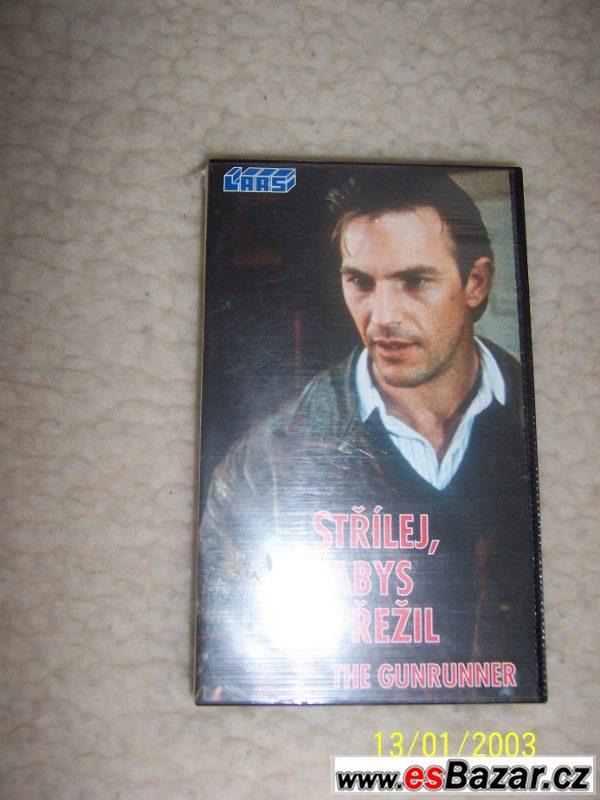 VHS film: Střílej,abys přežil