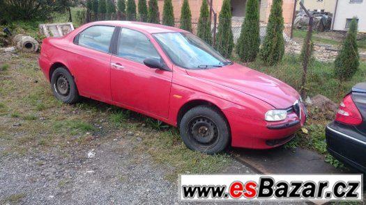 Alfa Romeo 156 2.0 TS Náhradní díly