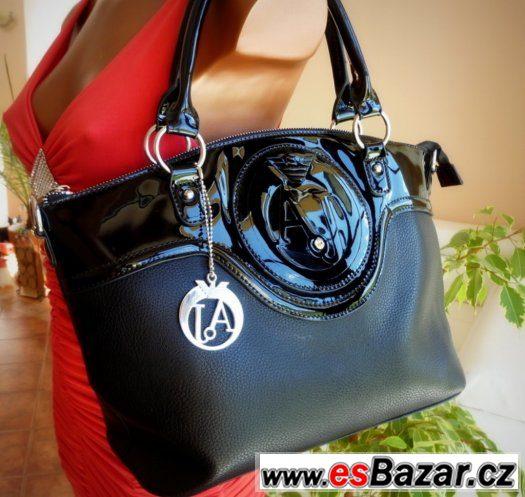Černá kabelka Armani 802ddee11f5