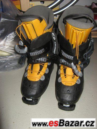 4c932ee637c Prodám pánské lyžařské boty SALOMON VERSE SF UK10 EU45