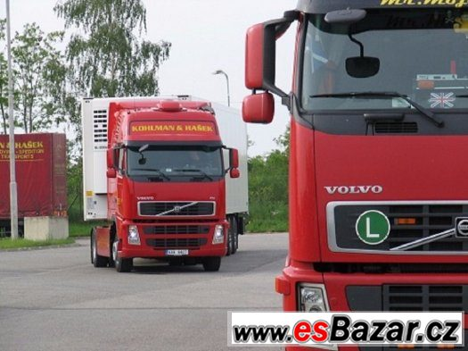 řidič vnitrostátní kamionové dopravy