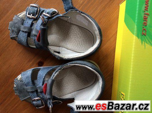 5cde9c3e985 FARE sandalky vel. 22 - nošeny pouze jako bačkůrky