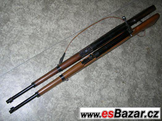 c158a6829 2x Vojenská vzduchovka vzor VZ 47 CZ 2 kusy prodám, Praha, sbazar, avízo,  bazoš
