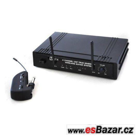 Kytarový bezdrátový systém Skytronic - qtx 4 channel UHF