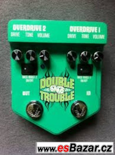 Kopia Ibanez TS od Visual Sound DOUBLE TROUBLE