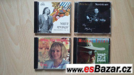 CD Petr Spálený, Hana Zagorová, Michal Tučný