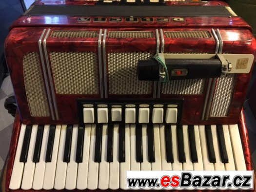 Prodám akordeon - harmoniku CARMEN X III - TOP STAV.