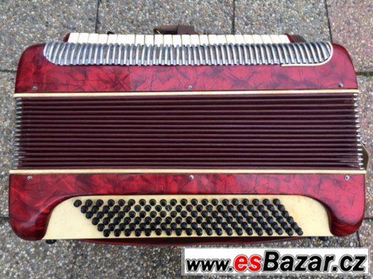Prodám klávesovou harmoniku - akordeon Lignatone 90 basů.