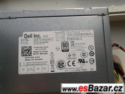 zdroj Dell 270W 80+Gold