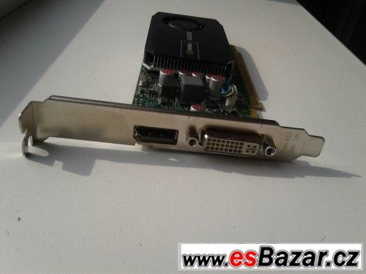 nVida Quadro 1GB - 2Ks