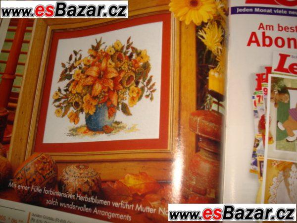 Časopisy na vyšívání a nápady