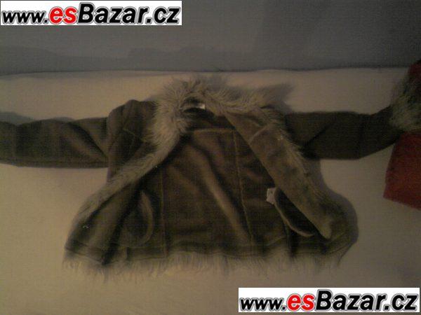 zimn dětský kabátek