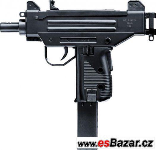 Airsoft Pistole IWI UZI Pistol ASG, nová, zabalená, záruka