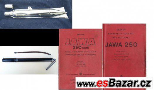 Jawa Pérák - Náhradní díly