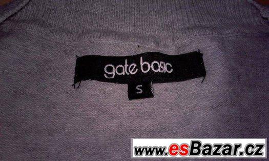 Světle šedý svetr GATE
