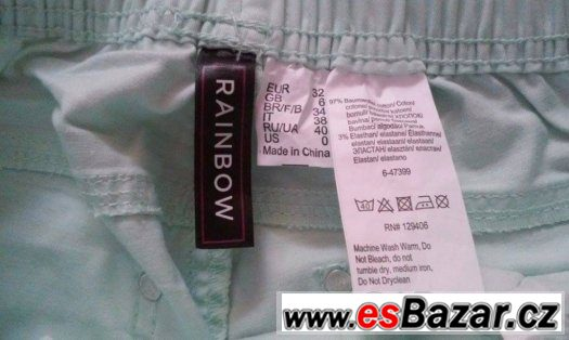 Dámské kalhoty Rainbow s visačkou