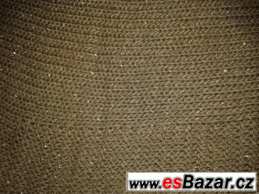 Třpytivý dámský svetr