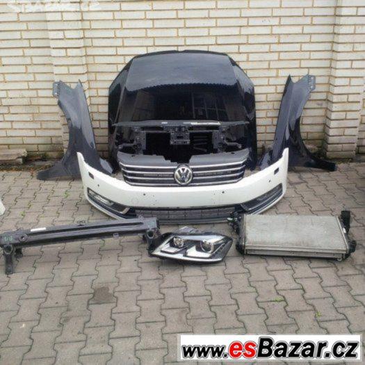 Volkswagen Passat B-7 Dily na Predek Airbagova sada Chladic