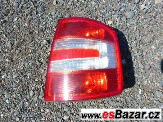 Škoda Fabia I (facelift) - zadní světlo
