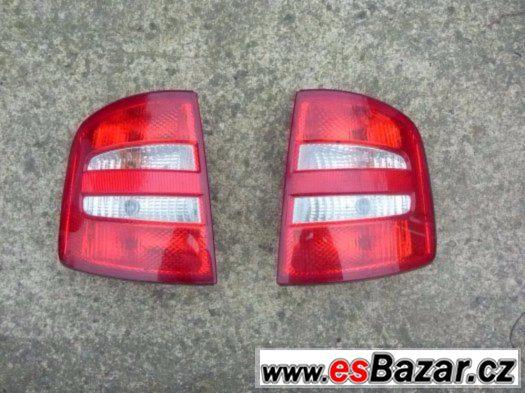 Škoda Fabia I - zadní světla