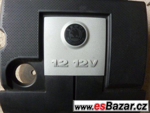 Škoda Fabia - kryt motoru 1.2 htp