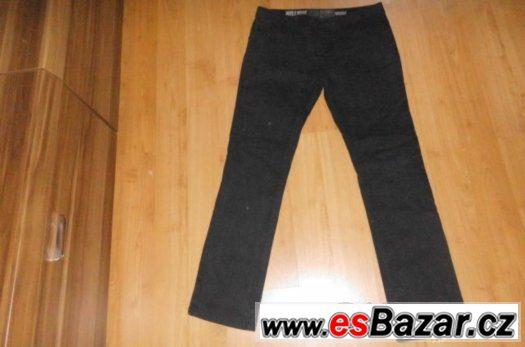 Černé džíny, skinny vel. 164