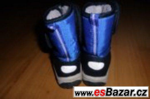 Zimní boty, sněhule, vel. 24