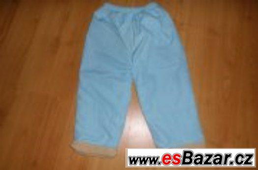 Zateplené kalhoty, vel. 98