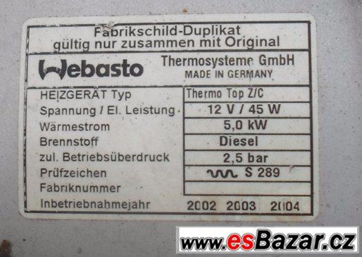 BMW - Naftové Webasto + elektrické topení - možno vyzkoušet