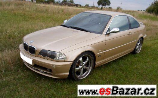 BMW e46 coupe - Náhradní díly