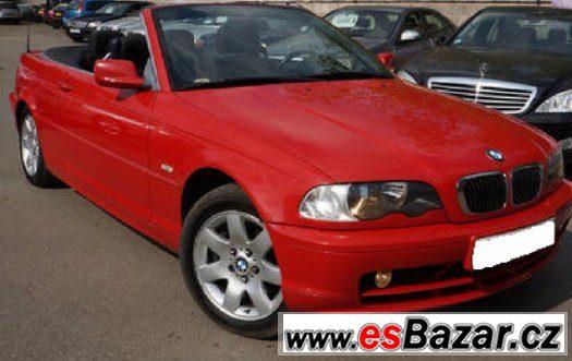 BMW e46 cabrio - Náhradní díly
