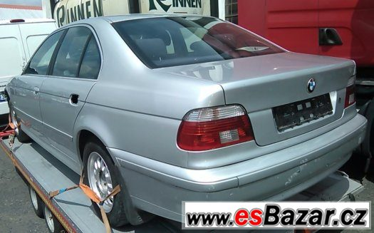 BMW e39 525D 120kW sedan facelift - Náhradní díly