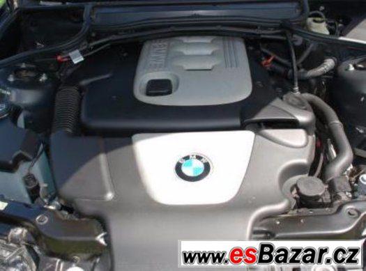 BMW 320D 110kW - Kompletní motor (možno vyzkoušet)