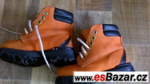 zimní a letní  boty 23-24-25